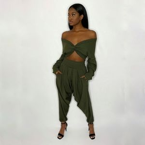 Two Piece Jogger Style Set